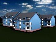 Nová výstavba bytů, Vizovice, okr. Zlín